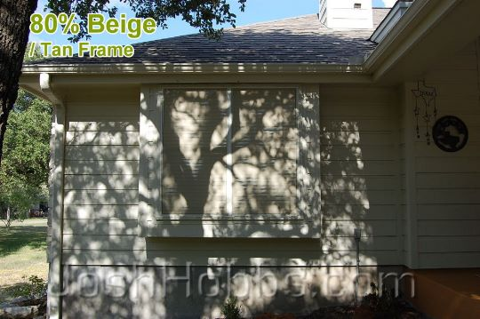 Austin TX Shade Screens aka Solar Window Screens
