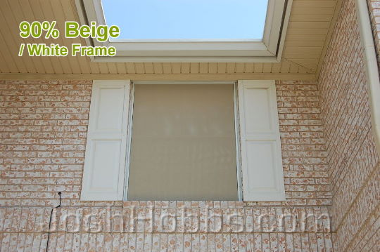 Austin TX Solar Shades aka Solar Window Screens