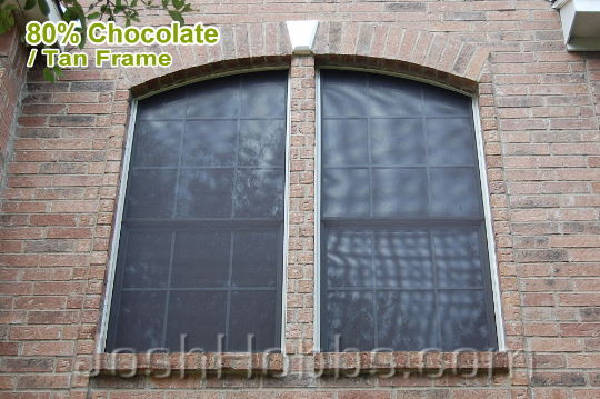 Leander TX Heat Shade Screens aka Solar Window Screens