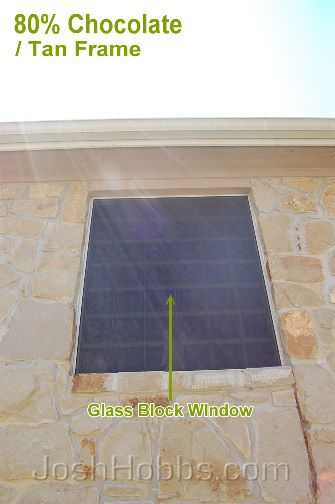 Round Rock TX Heat Shade Screens aka Solar Window Screens